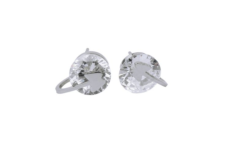 stainless steel jewelry with diamonds