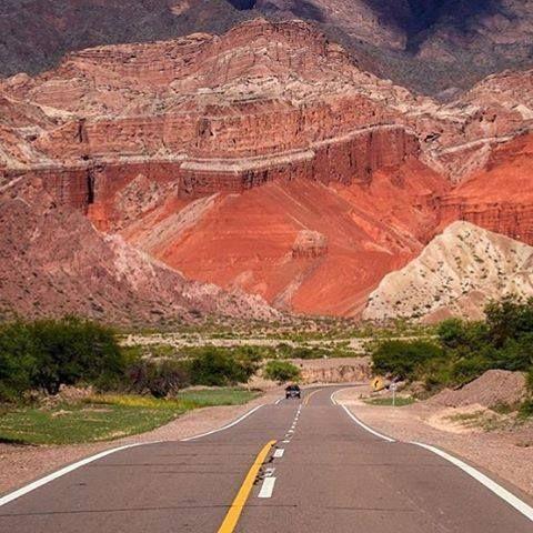 Camino a Cafayate - Salta - argentina