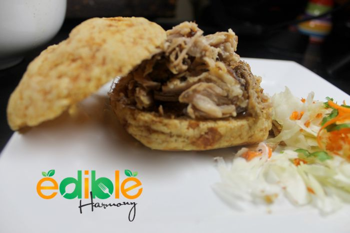 Slow Cooked Pulled Pork (crock pot) - Edible Harmony