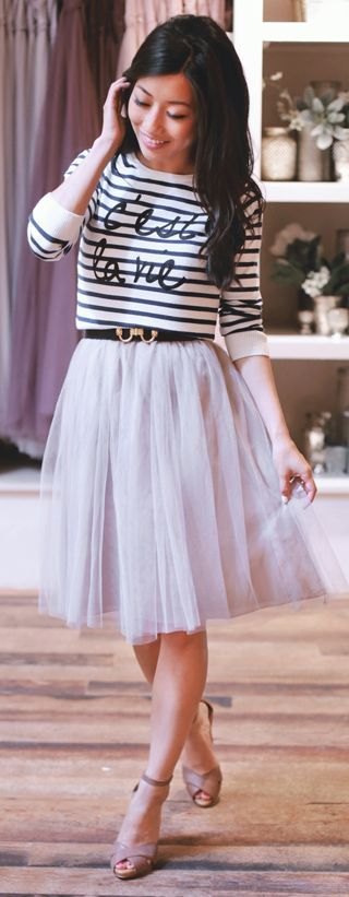 Midi Skirt For Petite | Jill Dress