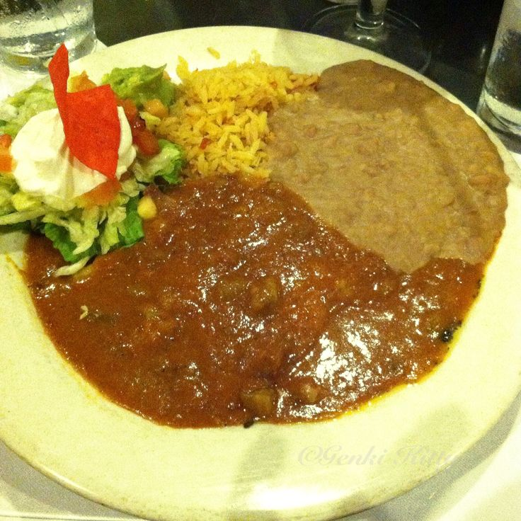 My First Tex Mex Meal in Texas - vegan