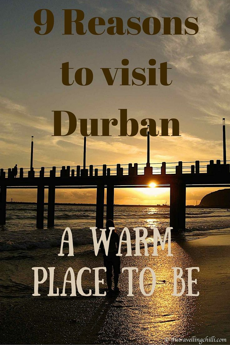 9 Reasons to visit Durban in South Africa - A warm place to be #durban #southafrica | Durban in KwazuluNatal