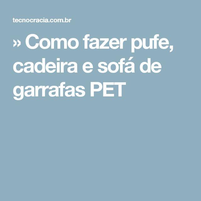 17+ melhores ideias sobre Sofa De Garrafa Pet no Pinterest ...