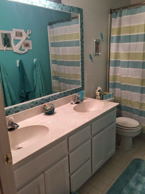 Bathroom Makeovers Ni the 25+ best tile mirror frames ideas on pinterest | tile mirror