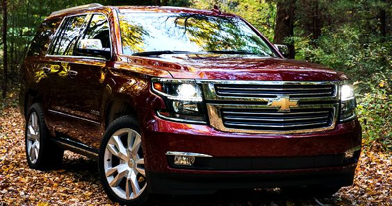 2019 Chevy Tahoe Redesign