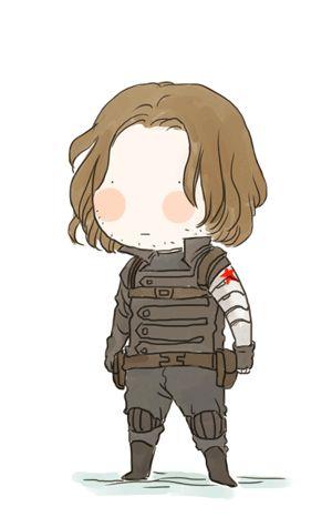 Wind soldier Bucky chibi gif fanart by xxxxxx6x