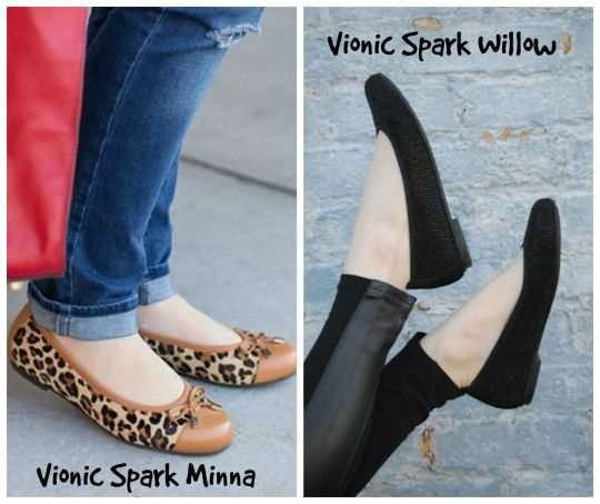Ballet flats for plantar fasciitis? Vionic makes it possible!