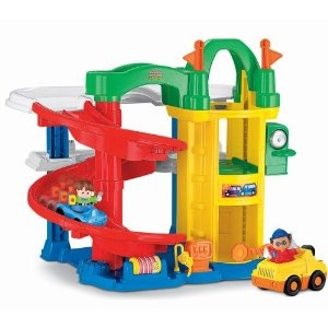 $40 Fisher-Price Little People Racin' Ramps Garage - I don't know why this is so expensive. But its a cute toy for someday maybe?