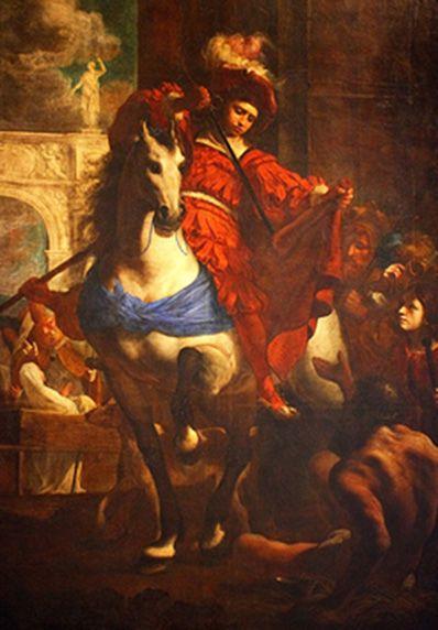 Karel Škréta - St.Martin (1645) #painting #art #Czechia