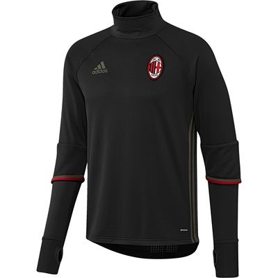 AC Milan Training Top - Black, Black: AC Milan Training Top - Black As the Rossoneri attempt to train… #Sport #Football #Rugby #IceHockey