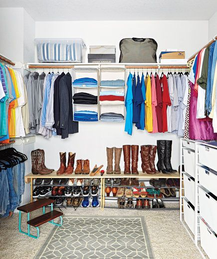 A Rug Can Give Your Space a Boutique-y Feel | 10 Secrets Only Professional Closet Organizers Know