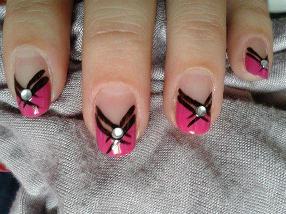 Fotos de uñas color Rosa – 42 nuevas imágenes – Pink nails | Decoración de Uñas - Manicura y NailArt