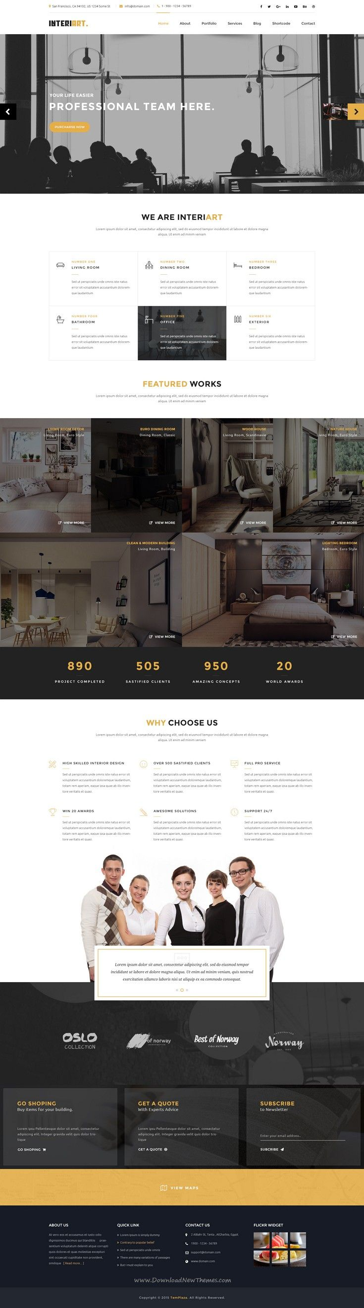 InteriArt   Furniture   Interior Joomla Template. 20  best ideas about Furniture Websites on Pinterest   Room layout