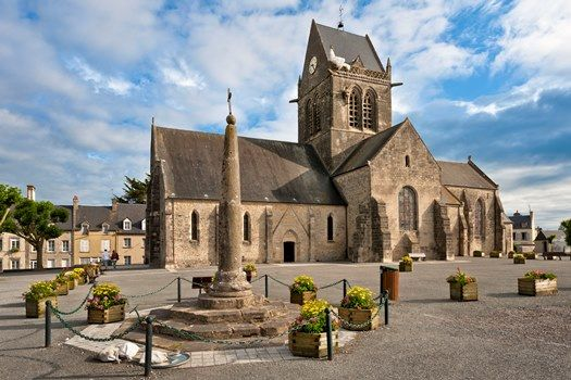 Eglise de Sainte-Mère Eglise - M. Lerouge - PAT Cotentin
