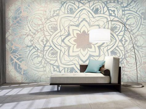 Die besten 25+ Ornament tapete Ideen auf Pinterest Tapeten - wandbilder wohnzimmer grun