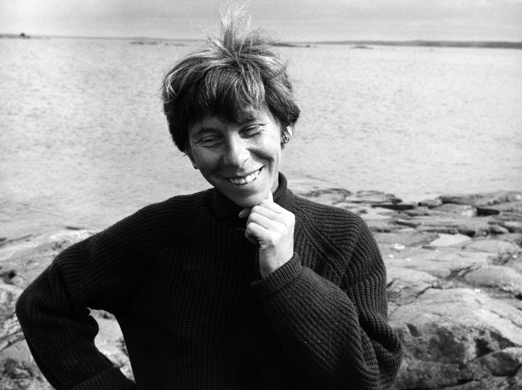 Tove-Jansson, author of the Moomintroll series.