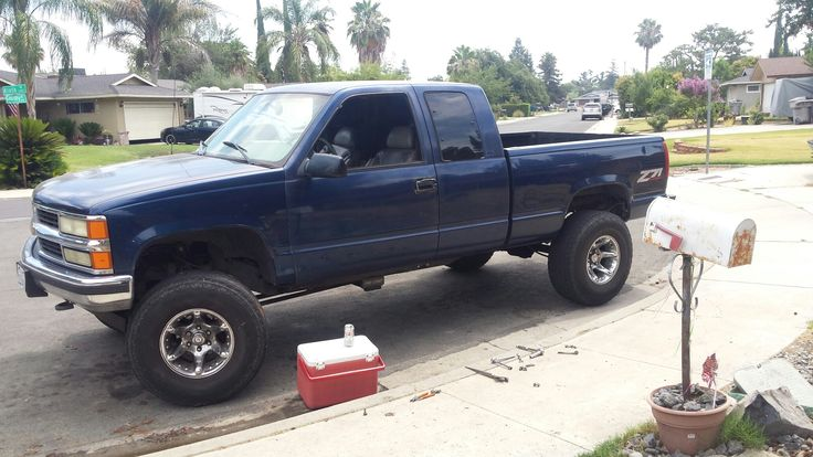 1996 chevy silverado k1500 project