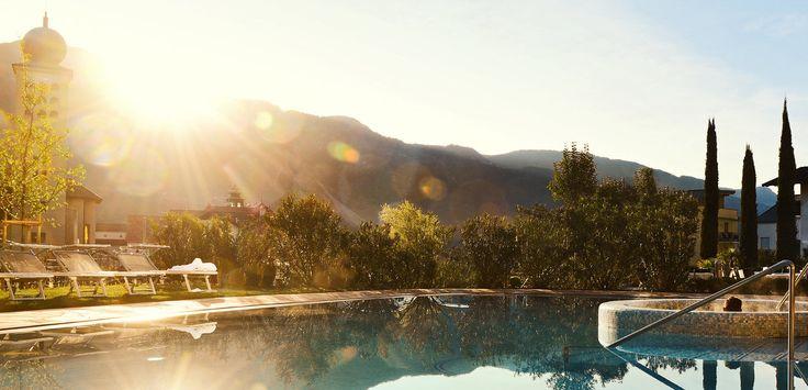 Hotel Schwarzschmied in Lana - Yoga-Urlaub in Südtirol