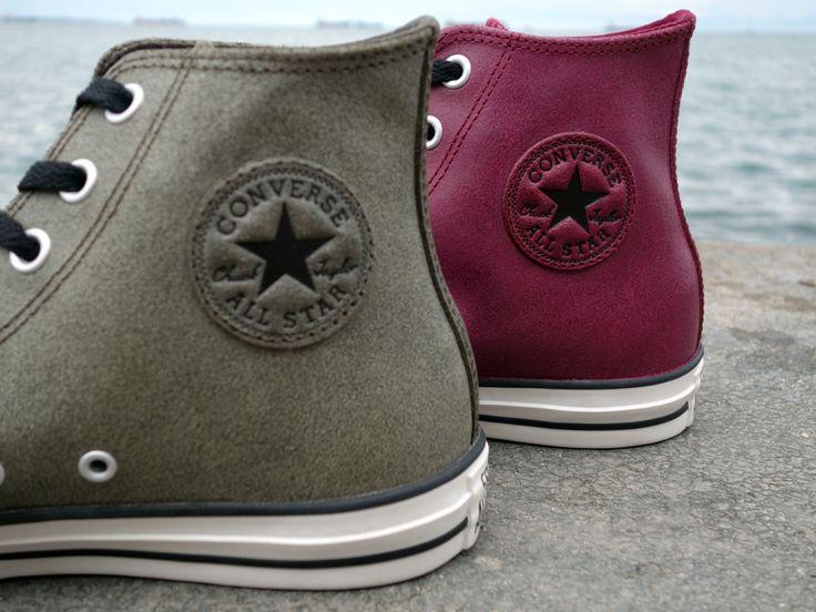 Converse - All Star Chucks hi leather Μπορντώ / Oxheart (144762C) http://www.streetwear.gr/Ανδρικά-Sneakers/Converse-All-Star-Chucks-hi-leather-144762C.html#.VEuB_vmsXX8  Converse - All Star Chucks hi leather Pineneedle (144763C) http://www.streetwear.gr/Ανδρικά-Sneakers/Converse-All-Star-Chucks-hi-leather-144763C.html#.VEuDQ_msXX8