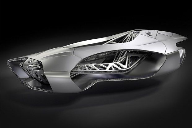 3D printed car inspired by turtle skeleton (Wired UK)