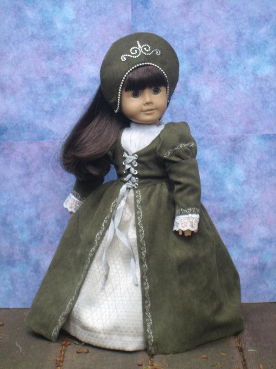 Tudor Outfit for your American Girl doll by CarmelinaCreations
