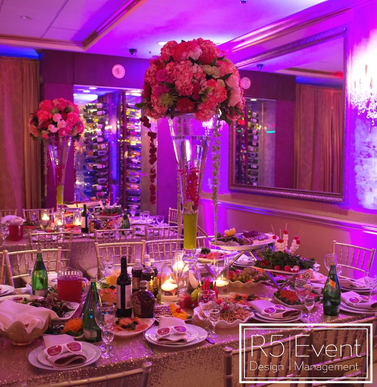 Coral themed 35th Anniversary Party by R5 Event Design!