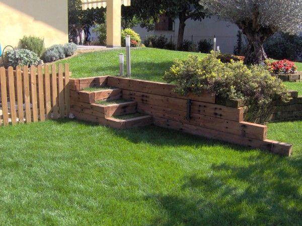 Oltre 25 fantastiche idee su giardino in pendenza su - Idee progettazione giardino ...