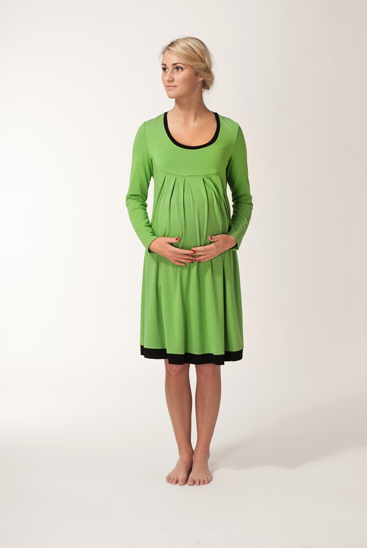 33 best maternity dresses and tunic images on pinterest green apple maternity dress with black trim ombrellifo Images