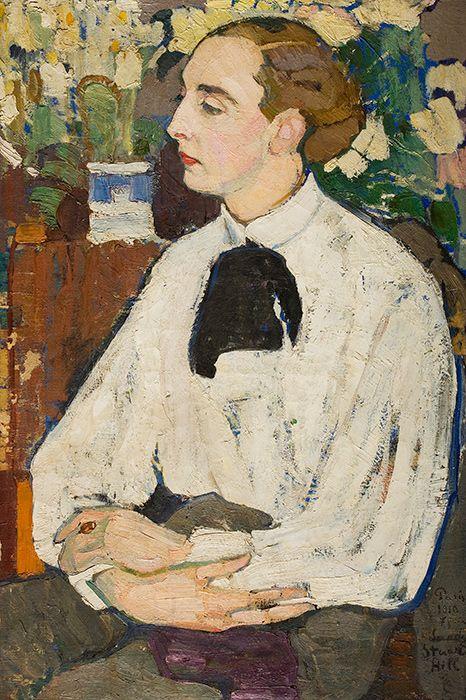 Санди (портрет художника Александра Стюарта-Хилла) Елена Андреевна Киселева 1910