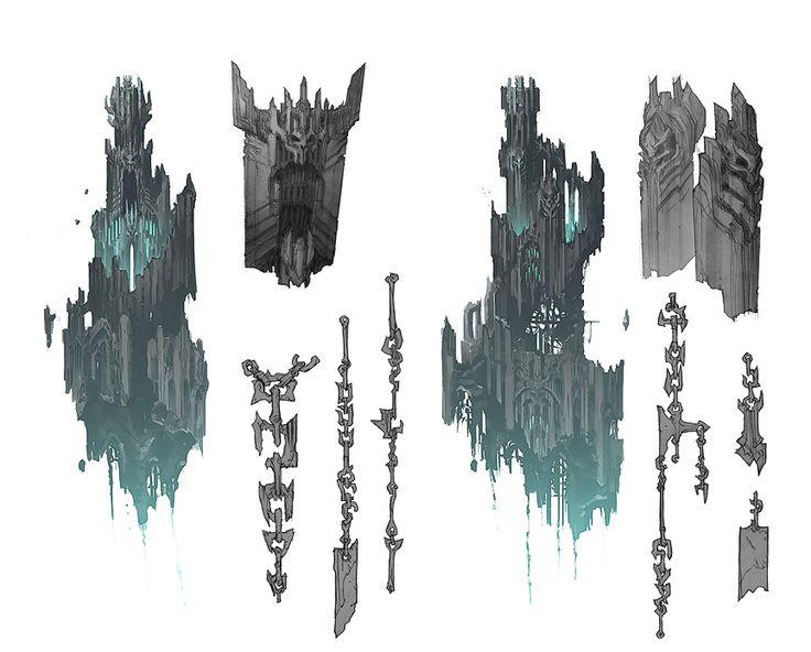 Darksiders concept art by Paul Richard (9)