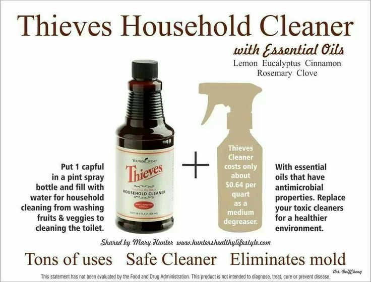 Thieves Cleaner Young Living Pinterest Thieves Cleaner