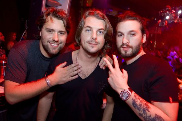 Swedish House Mafia - Swedish electronic dance music trio consisting of three house disc jockeys and producers. The middle disc jockey is the only true Swede. Even so, these three men are wonderful!