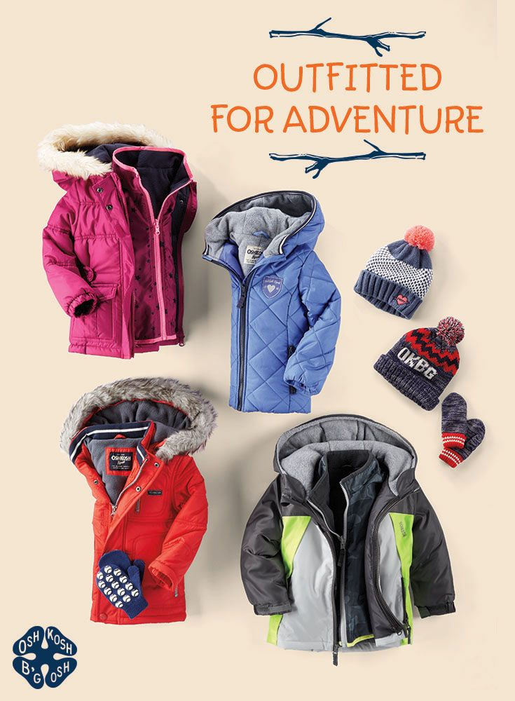 The Outerwear Shop is now open! We're ready for cool hikes and snowy treks with jackets, mittens and more.