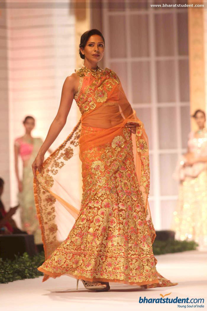 Lengha by Pallavi Jaikishan at Aamby Valley City India Bridal Fashion Week 2013