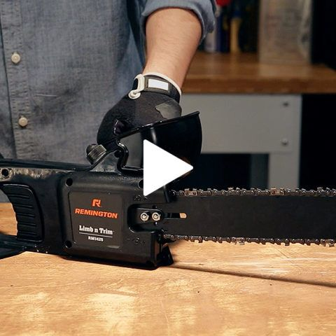 Electric Chainsaw Safety Videos and Tutorials | Remington Chainsaws