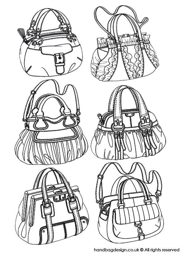 Pumpkin handbag designs by Emily O'Rourke