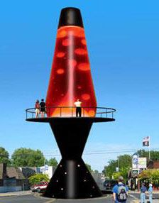 Giant  Lava Lamp, Soap Lake, WA