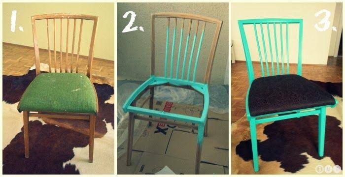 DIY Stühle verschönern / restaurieren