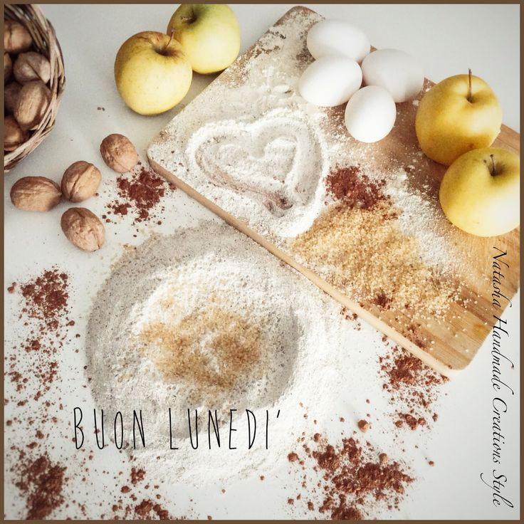 Ingredienti per la preparazione della mia torta di mele!!!