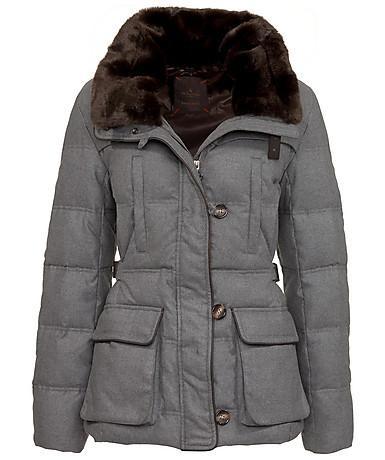 Dick eingemummelt und dennoch chick #jacket #winterjacke
