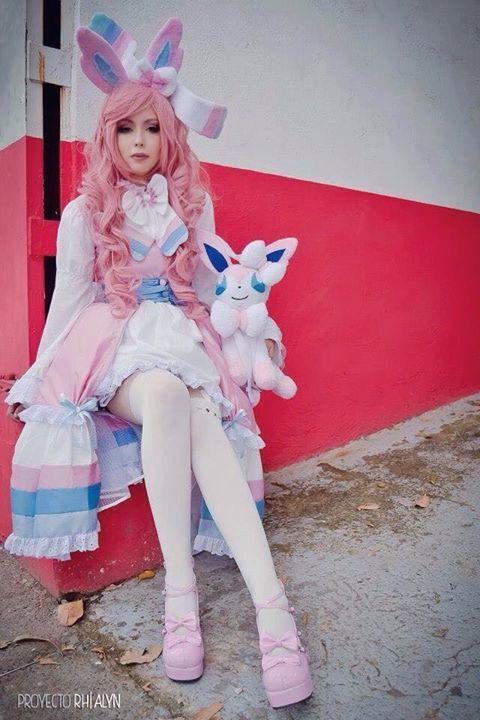 cosplay pokemon sylveon gijinka by LEAMNERSHOP on Etsy