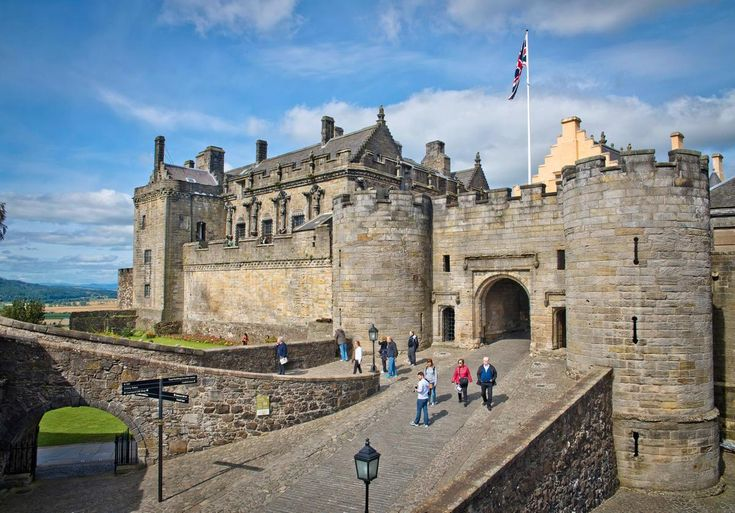 Scotland -- Stirling Castle entrance