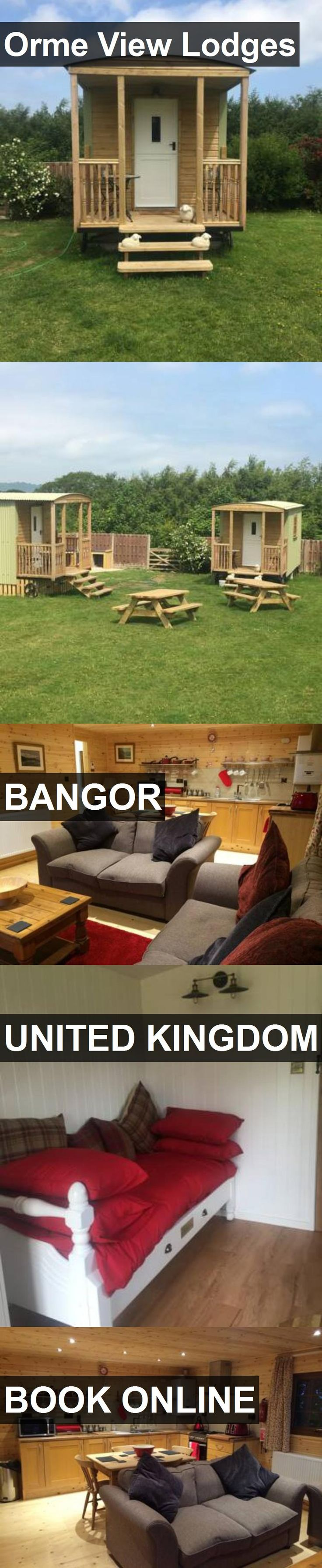 Hotel Orme View Lodges in Bangor, United Kingdom. For more information, photos, reviews and best prices please follow the link. #UnitedKingdom #Bangor #travel #vacation #hotel