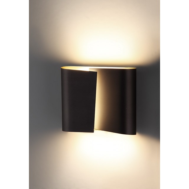 Hand Brushed Old Bronze (Large) filia wall sconce