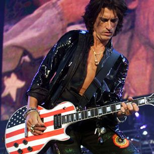 Joe Perry has spent most of his three decades in Aerosmith being compared to Keith Richards: as the guitar pirate and songwriting foil to Aerosmith's own Jagger, Steven Tyler. But Perry's admiration for both Richards' riffing and Jeff Beck's screaming leads was grounded in blues and R.