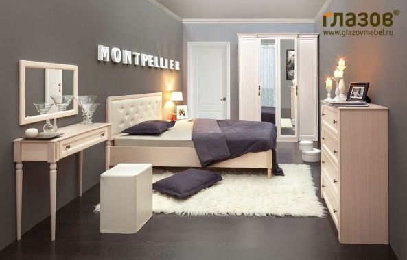 "Спальня ""Montpellier"" композиция 1 на Маркете VSE42.RU"