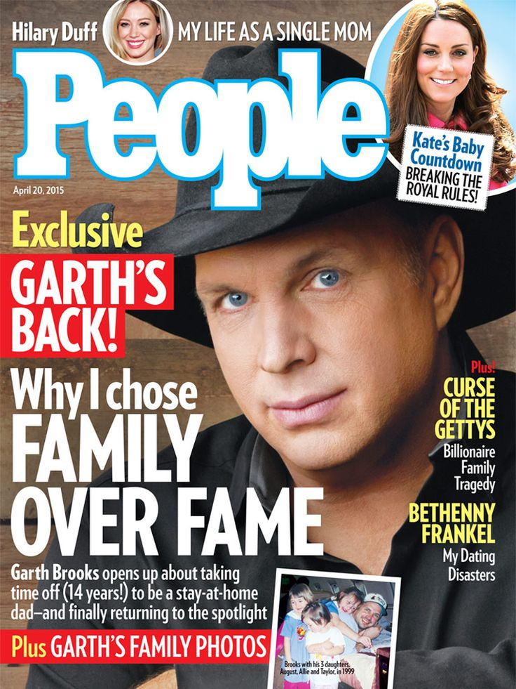 In this week's PEOPLE: Garth Brooks: Why I Chose Family over Fame http://www.people.com/article/garth-brooks-country-music-family-over-fame