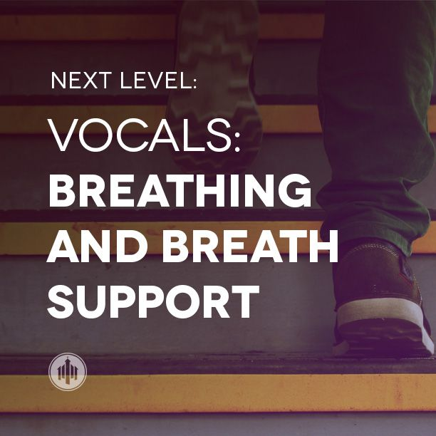 A worship leader's guide to breathing and breath support for vocalists.