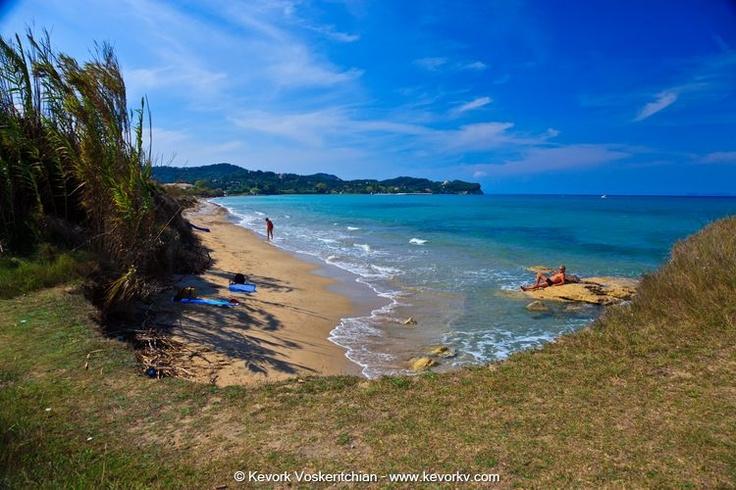 Gialos Beach Corfu. Corfu travel guide by Corfu2travel.com #corfu #greece #islands #beaches #scenery