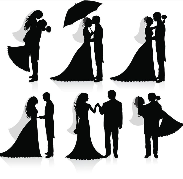 I want a Silhouette Cake Topper! cute :)